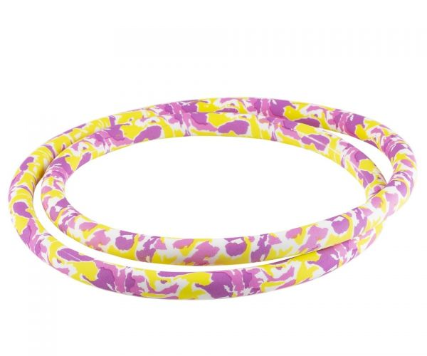 Silikonschlauch Soft-Touch - Pink Yellow Camo 150cm