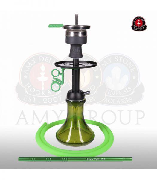 AMY Alu Buzz Bag - Green RS Black