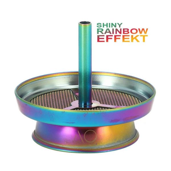 AO Kaminaufsatz Strainer - V2A Rainbow