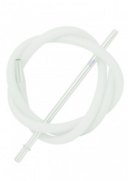 ShiZu Aluminium Silikonschlauch-Set - Weiß