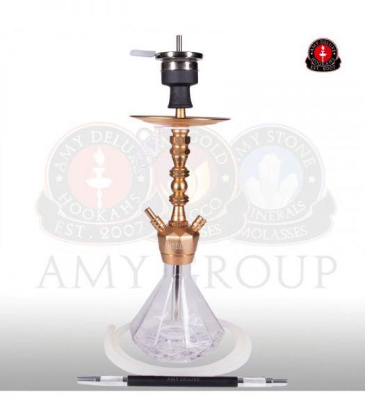 AMY Alu Diamond S 062 - Clear RS Gold