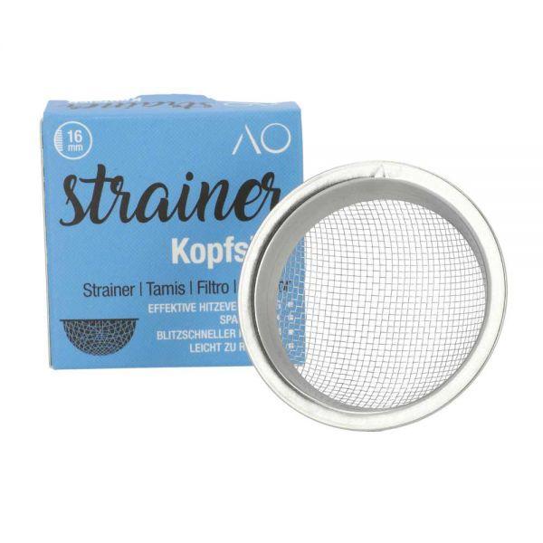 AO Strainer Kopfsieb Pro - 16mm