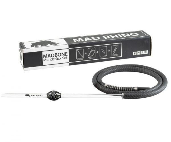 Mad Rhino MADBONE Schlauchset - Carbon Black