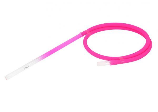 AO Schlauchset Glas Round Coloured - Pink