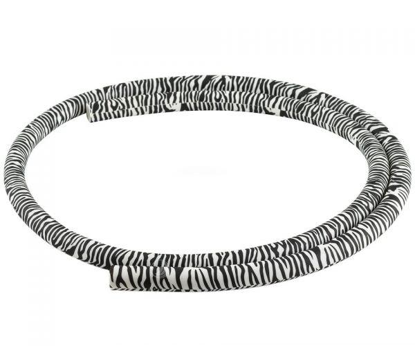 Shisha Silikonschlauch - Zebra 150cm