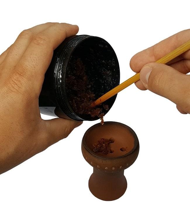 shisha-kopf-bauen-tabak