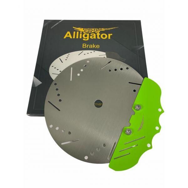 Alligator Brake Kohleteller - Grün