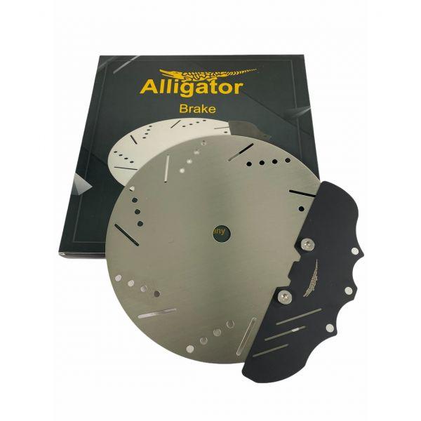 Alligator Brake Kohleteller - Schwarz