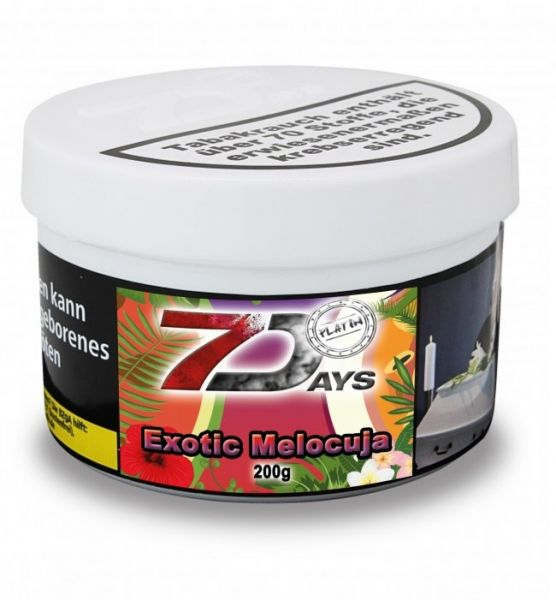 7Days Platin - Exotic Melocuja 200g