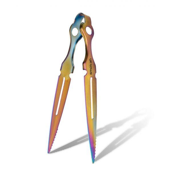 Smokah Zange Sword Tong Rainbow - 22cm