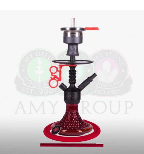 Amy Alu Antique Berry Mini 072.03 - Red RS Black