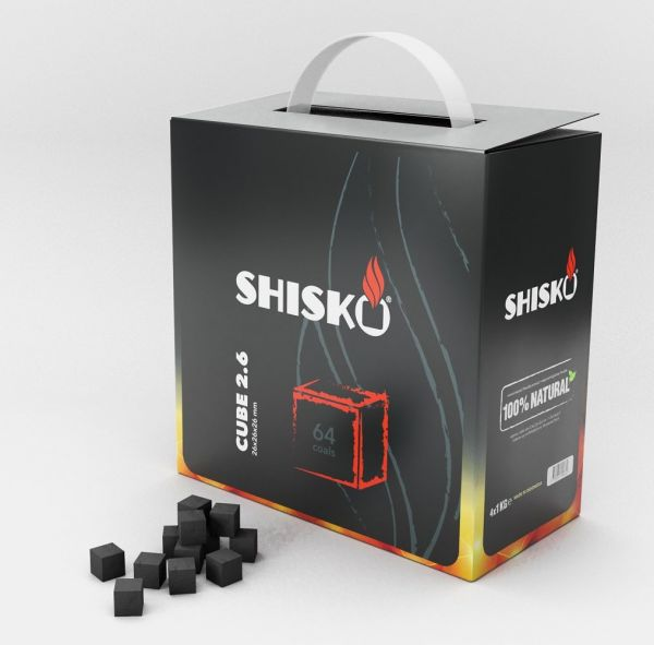 Shisko Premium Naturkohle - 4kg