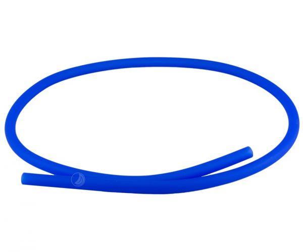 Shisha Silikonschlauch - Blau Matt