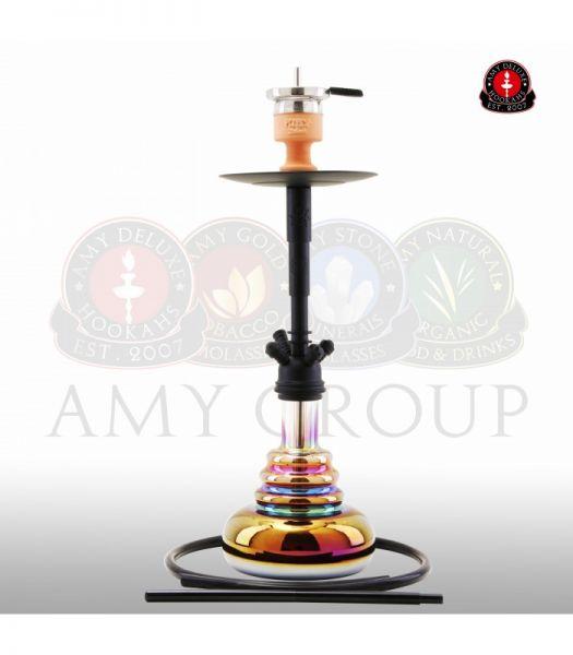 Amy Big Cloud Rainbow - Black RS Black