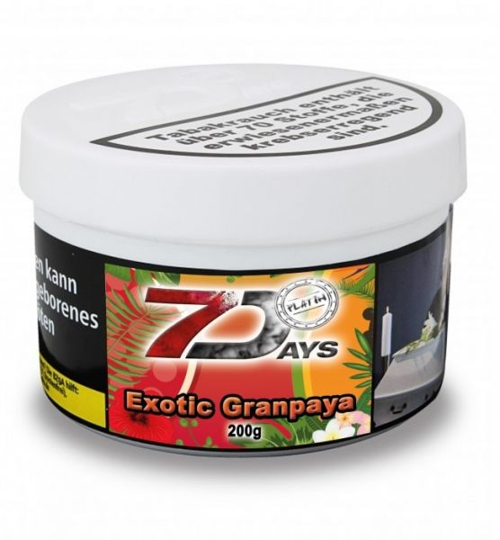 7Days Platin - Exotic Granpaya 200g