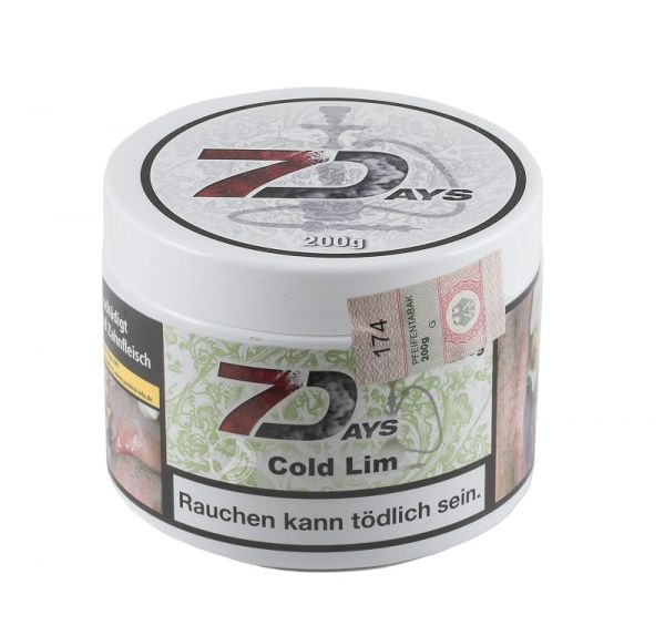7Days Classic - Cold Lim 200g