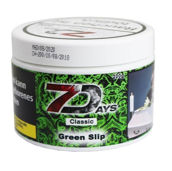 7Days Classic - Green Slip 200g