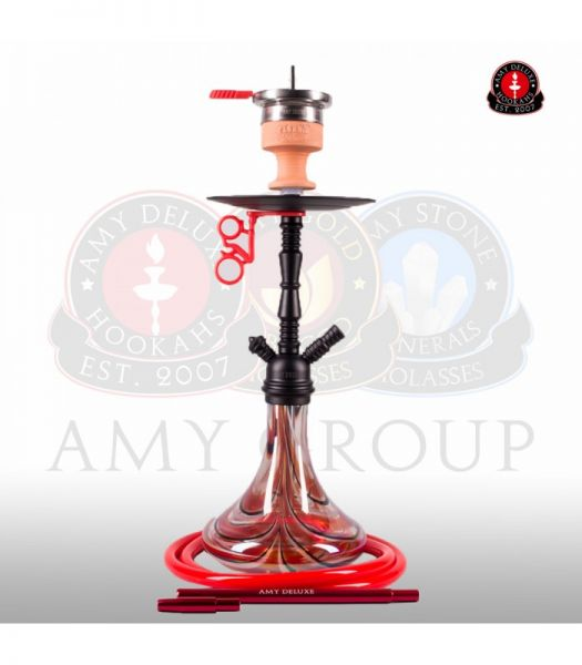Amy Middle Zoom - Rainbow Red RS Black