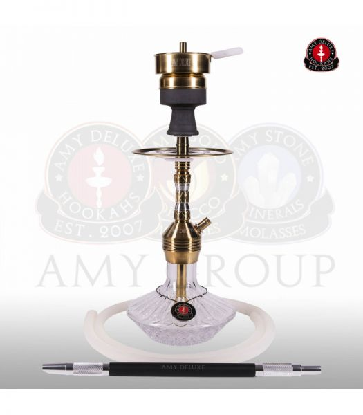 AMY Fusion Shine Mini SS33.03 - Clear RS Gold