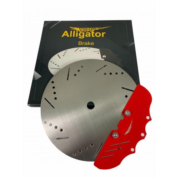Alligator Brake Kohleteller - Rot