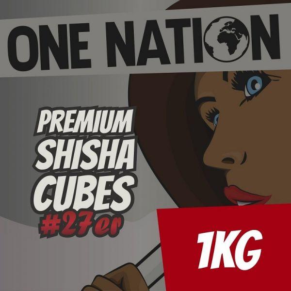 One Nation Shisha Cubes #27er - 1kg