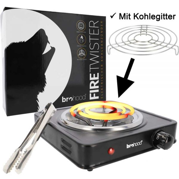 Brohood Kohleanzünder Firetwister - 1000W