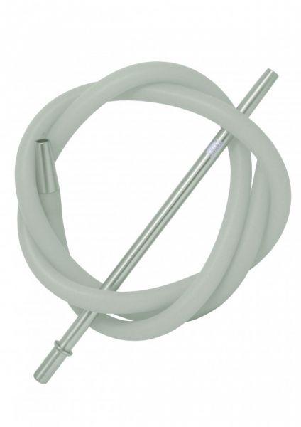 ShiZu Aluminium Silikonschlauch-Set - Silber