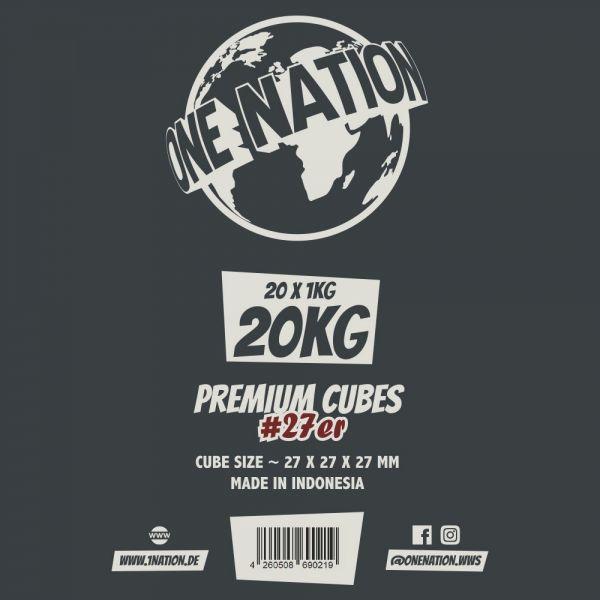 One Nation Shisha Cubes #27er - 20kg Gastro